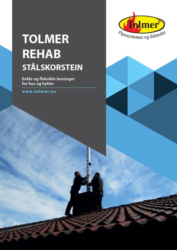 Tolmer Rehabilitering av stålskorstein - 2020